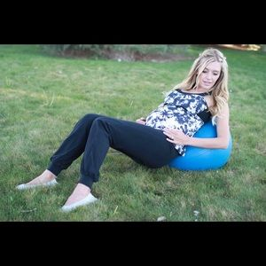 Belabumbum Pants - Maternity BelaBumBum Foldover Joggers